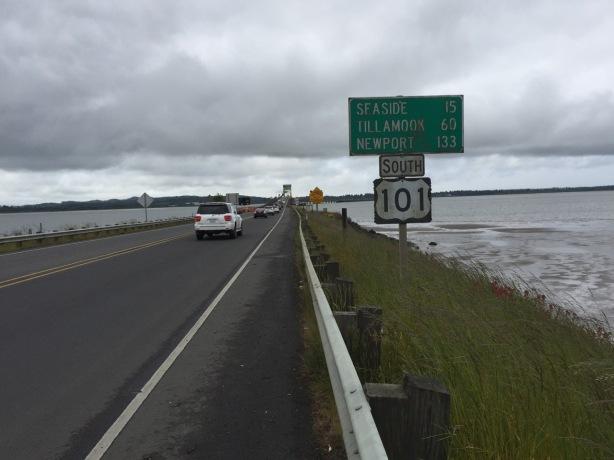 60 miles to Tillamook!