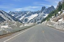 Washington Pass - Liberty Bell - North Cascades Highway